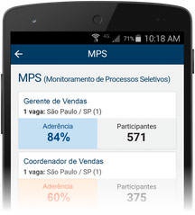 MPS - Monitoramento de Processos Seletivos